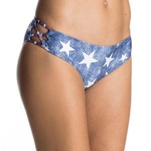 Roxy Star Day - Strappy 70's Bikini Bottoms